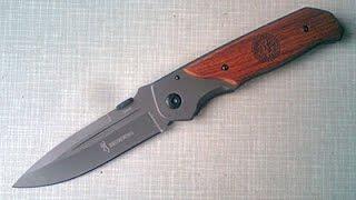 Нож BROWNING DA30 за 14.9$(Из преимуществ - хорошая клипса, которая перекочевала на нож получше. В остальном ничего выдающегося. Blade..., 2014-09-22T06:04:58.000Z)
