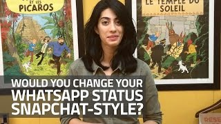 WhatsApp's New Snapchat Style Status Messages | Would You Use It?(WhatsApp has given its users a new way to keep sharing their everyday experiences with their contacts with its newly revamped Status feature. The overhauled ..., 2017-02-23T14:15:07.000Z)