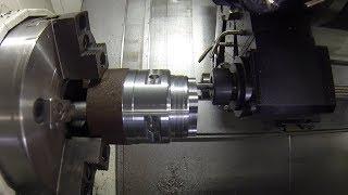 Fastest Dangerous Biggest Heavy Lathe Machine  Cutting Technology CNC