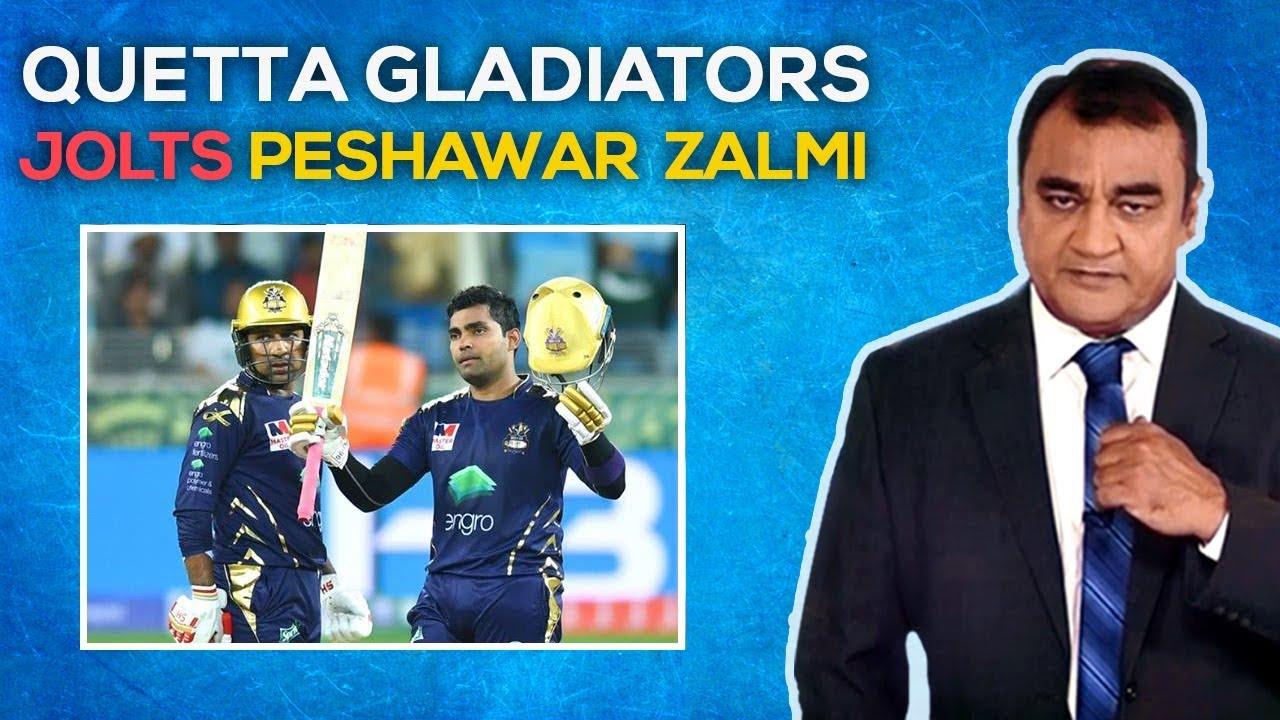 Quetta Gladiators Jolts Peshawar Zalmi | Waheed Khan Analysis | G Sports PSL Transmission