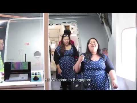 Big Sist and mum travel to Singapore for Asia's Got Talent!