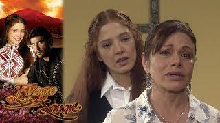 Sofía regresa a la Hacienda | Fuego en la Sangre - Televisa