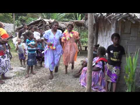 Dresses for the Bride in Amelie, West Malekula, Vanuatu
