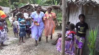 Dresses for the Bride in Amelie, West Malekula, Vanuatu