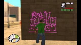 Находим и закрашиваем все граффити в Gta San Аndreas (ГТА Сан Андреас).(Ссылка на карту с граффити: http://img2.wikia.nocookie.net/__cb20130216121729/gta/ru/images/thumb/f/fd/Map_Graffiti_L.gif/1000px-Map_Graffiti_L.gif P.S. ..., 2015-02-01T09:28:46.000Z)