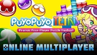 Puyo Puyo Tetris | 14 Minutes of Online Gameplay (Nintendo Switch)