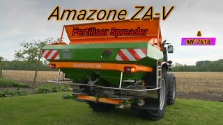 Amazone ZA-V Fertiliser Spreader & MF7618