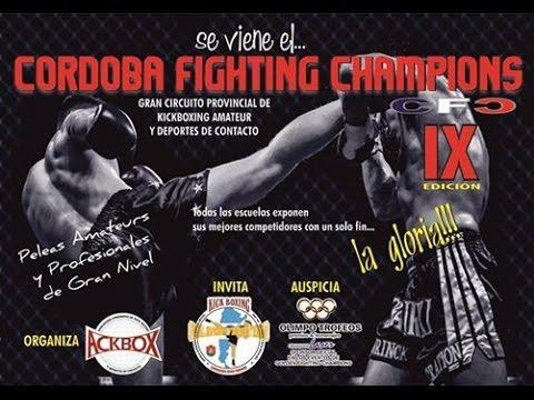 CORDOBA FIGHTING CHAMPIONS CFC 24-9