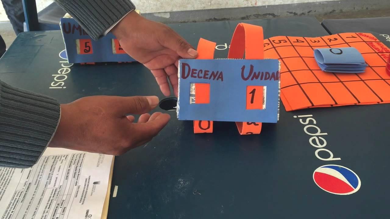 material didactico para segundo grado, en matematicas, numeros - YouTube