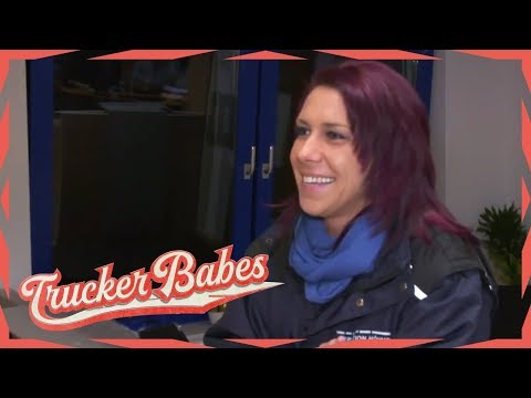 Trucker-Kken Katrin schlgt sich tough durchs Business | Trucker Babes | kabel eins