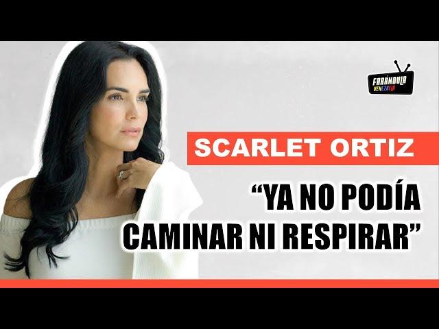 Scarlet Ortiz cuenta su experiencia luego de superar el COVID-19