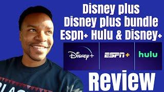 Gambar cover Disney+ and Disney plus bundle sign up review? Espn+ & Hulu