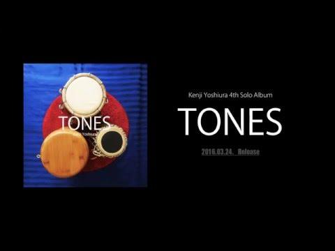"KenjiYoshiura CD ""TONES"""