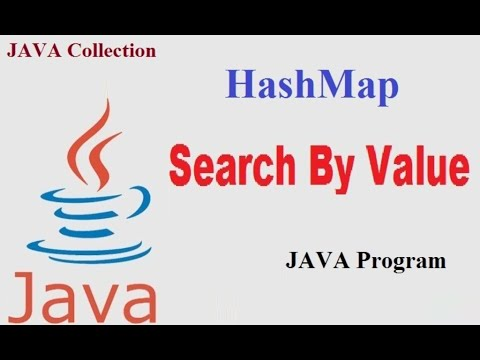 HashMap Class : Search By Value in java