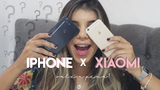 SAI DO IPHONE PARA XIAOMI -   XIAOMI MI8 LITE!  VALE A PENA?| Alana Alvarenga