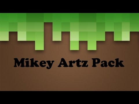 Minecraft Texture Pack   Mikey Artz Pack (Free download)