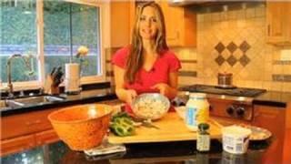 Healthy Recipes : Low Calorie Imitation Crab Salad