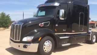 2015 579 Peterbilt 75th Anniversary Numbered Limited Edition 500 Cummins 13 Speed