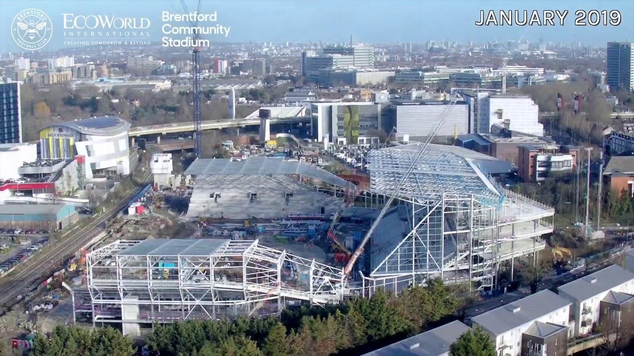 Brentford Community Stadium 18 Months Since
