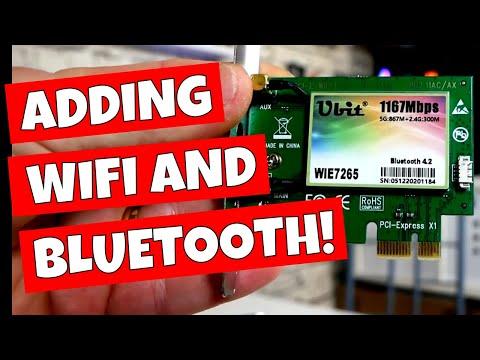 How To Add WiFi Bluetooth & Wireless To Your PC