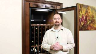 Closet Wine Cabinet - Vinotheque Wine Cellar