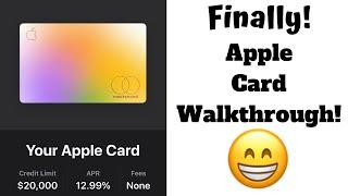 Apple Card Walkthrough!