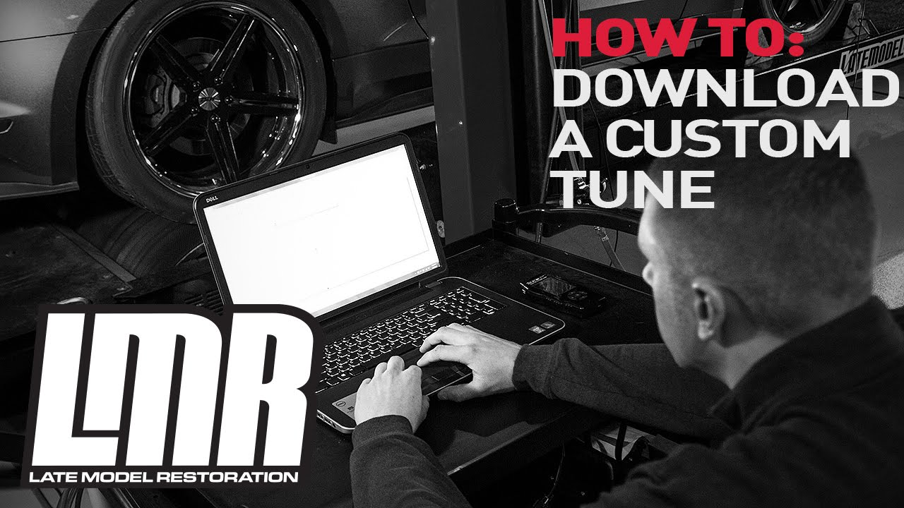 Mustang SCT Tuner Tech: How To Download a Custom Tune - YouTube