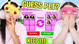 GUESS The LEGENDARY PET? You GET TO KEEP IT Challenge In Roblox Adopt Me