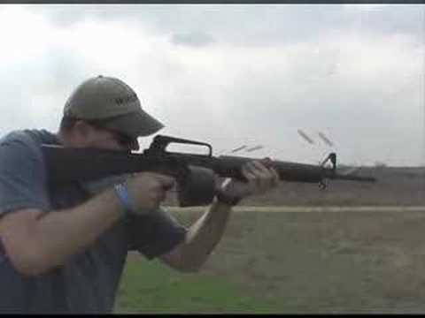 100 Rounds In Seven Seconds From An M-16