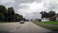 Driving through Fort Meade, Florida on US 17