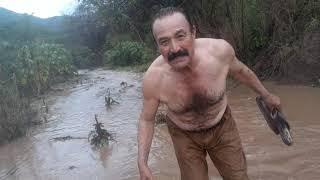 I inundaciones por las lluvias en el rancho