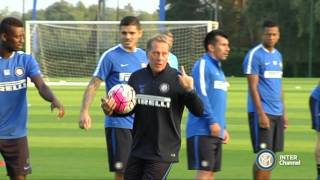 ALLENAMENTO INTER REAL AUDIO 26 09 2015