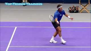 Pat Cash Volleys Slow Motion HD