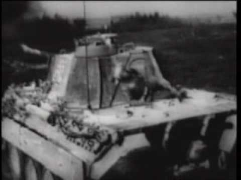 Panzer - Panther Tank military training film -RARE