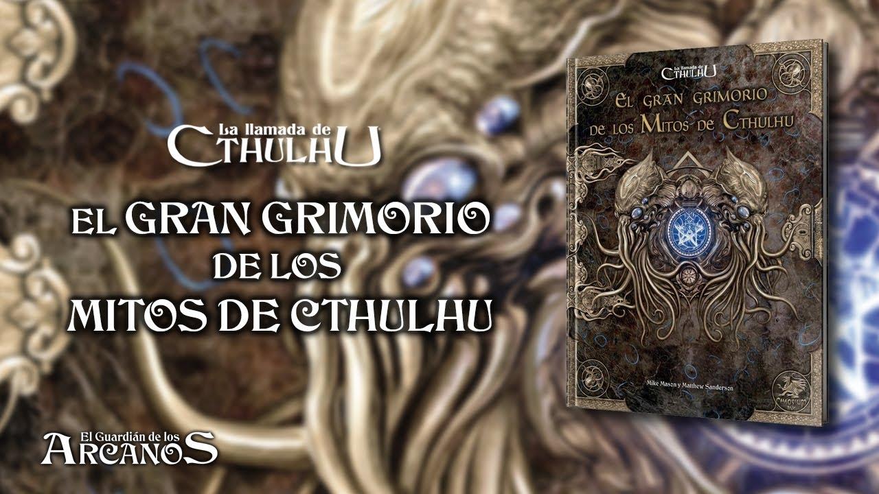 La Llamada de Cthulhu 7 - El Gran Grimorio de los Mitos de Cthulhu (EDGE)