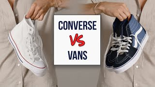 Converse vs. Vans | Which is the Better Sneaker!?