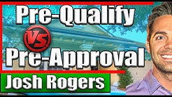 Mortgage Loan Pre-qualify VS Pre-approval: What's the difference?