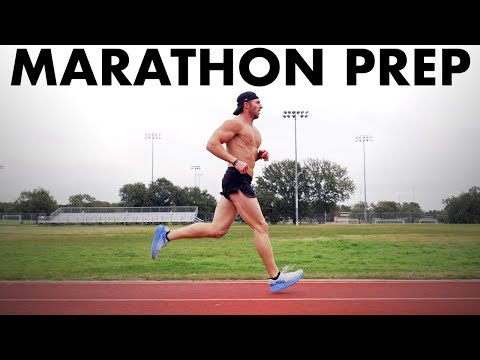 My Final Week, Yasso 800s + My Marathon Race Day Nutrition Plan