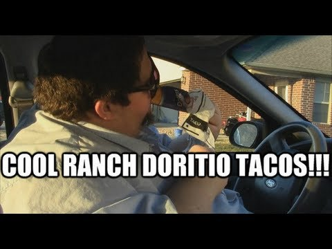 Francis Goes to Taco Bell for Cool Ranch Dorito Tacos!