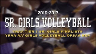 FMM 2016-2017 Sr. Girls Tier 1 Volleyball Team Highlights