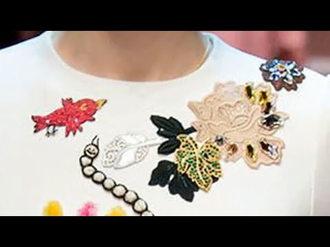 ВЫШИВКА: D&G ПЛАТЬЕ для МАМЫ   \   EMBROIDERY: D&G  DRESS for MOTHER