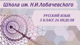 Русский язык 5 класс 26 неделя Имя существительное как часть речи