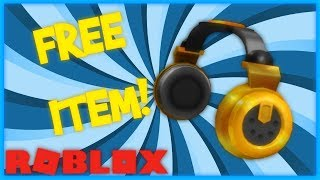 LIMITED NEW BILLIONAIRE'S HEADPHONES ON ROBLOX! (GRATUIT)