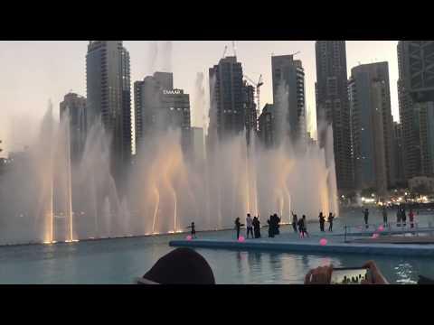 Power by EXO -Dubai Dancing Fountain ❤️
