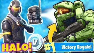 MASTER CHIEF SKIN In Fortnite: Battle Royale! 💥☠️🔥(HALO Rogue Suit)