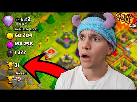 ATTACKING MY FIRST LEGEND LEAGUE PLAYER… (Clash Of Clans)