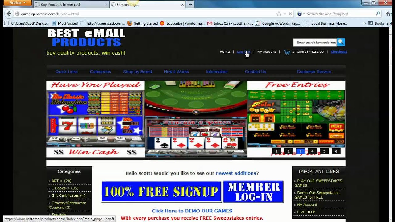 sweepstakes play from home play from home sweepstakes online youtube 5670