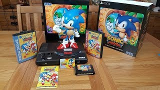 Sonic Mania Collectors Edition Unboxing & Review
