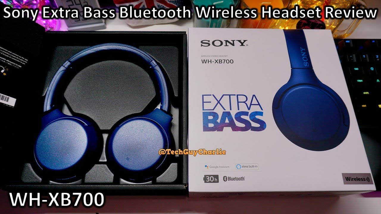 Sony Extra Bass Wh Xb700 Bluetooth Wireless Headphones Review Youtube