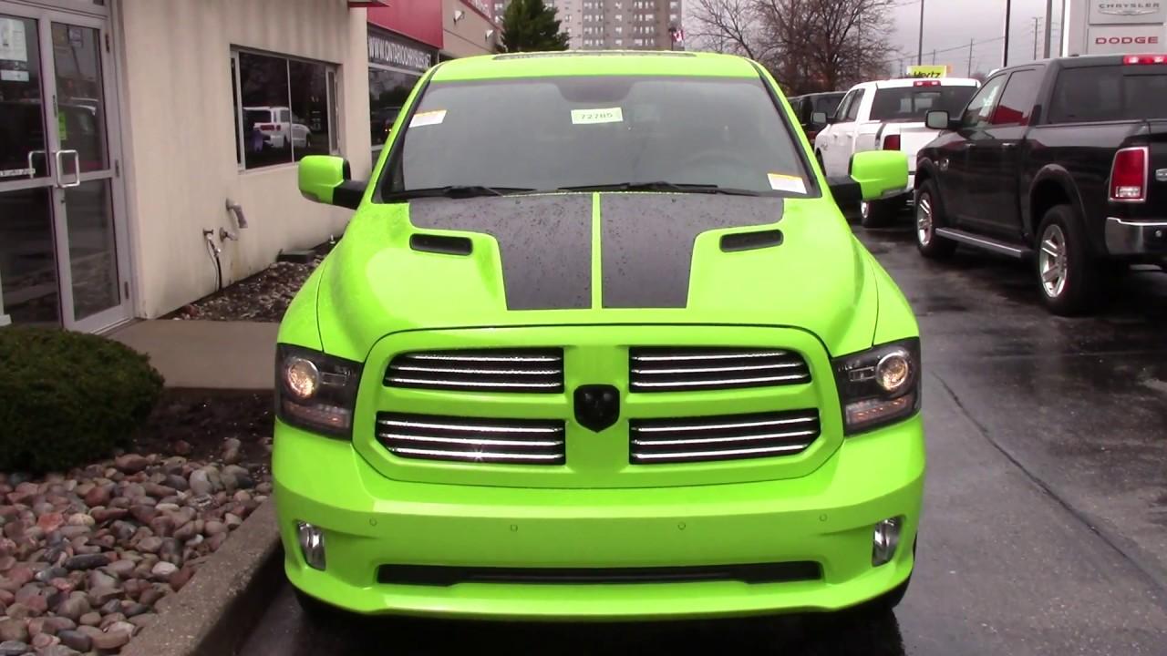 Jeep Chrysler Dodge Of Ontario >> New 2017 Ram 1500 Sublime Sport | Ontario Chrysler - YouTube